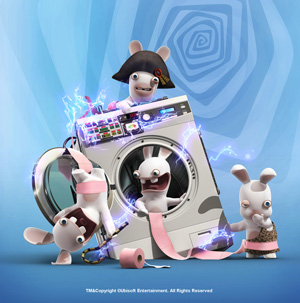 Raving Rabbids Travel In Time - Machine