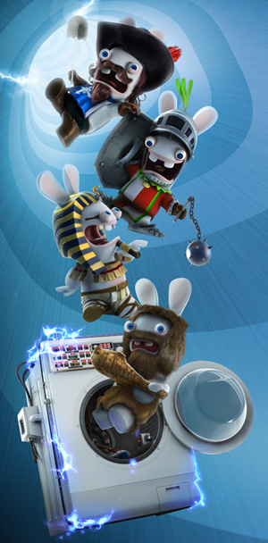 Raving Rabbids Travel In Time - Spirale