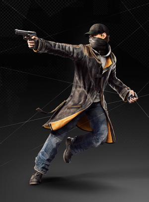 WatchDogs - Aiden Aiming