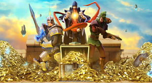 Mighty Quest For Epic Loot - KeyArt