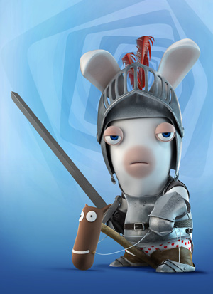 Raving Rabbids Travel In Time - Knight