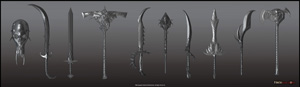 Heroes kingdoms - Weapons